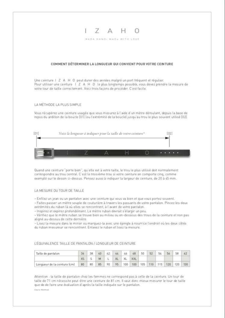 Choisir sa ceinture – L  atelier maroquinerie ab8133a6e93