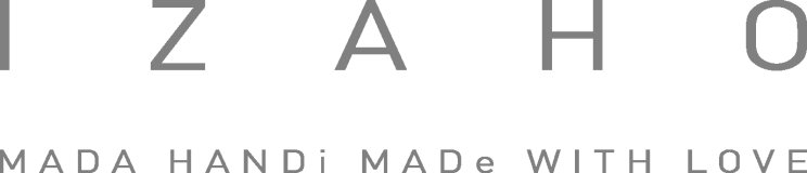Logo Izaho complet gris 50%