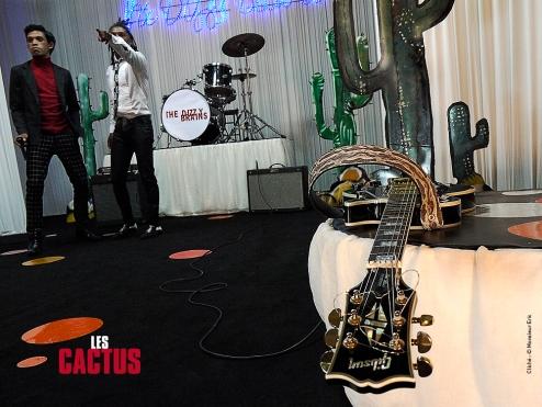 Sangle de guitare %22The Dizzy Brains%22 - Izaho, maroquinerie de Madagascar 6