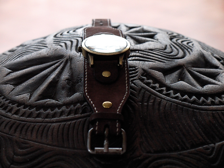 Bracelet de montre en cuir Madagascar 2