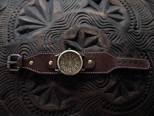 Bracelet de montre en cuir Madagascar 4