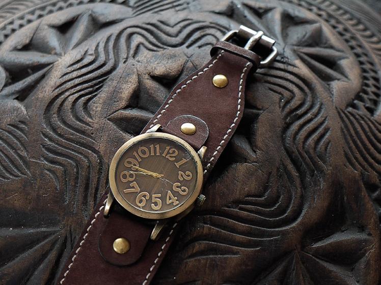 Bracelet de montre en cuir Madagascar