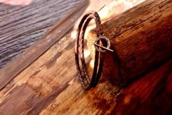 Bracelet en cuir de zébu - Atelier IZAHO - Madagascar 19