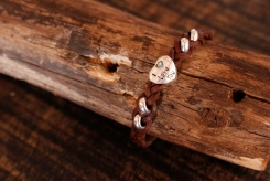 Bracelet en cuir de zébu - Atelier IZAHO - Madagascar 28