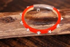Bracelet en cuir de zébu - Atelier IZAHO - Madagascar 33