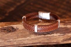 Bracelet en cuir de zébu - Atelier IZAHO - Madagascar 34