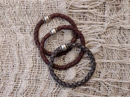 Bracelet en cuir, tressé, madagascar, IZAHO 11