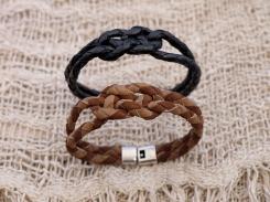Bracelet en cuir, tressé, madagascar, IZAHO 3