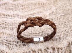 Bracelet en cuir, tressé, madagascar, IZAHO 6