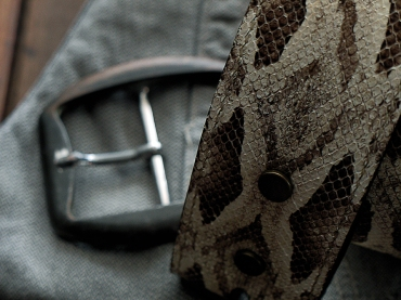 Ceinture : Ceinturon en serpent - Izaho Madagascar 6