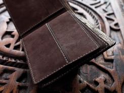 Porte carte de crédit, portefeuille, artisanat cuir Madagascar 2