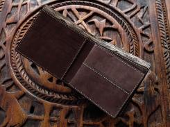 Porte carte de crédit, portefeuille, artisanat cuir Madagascar 5