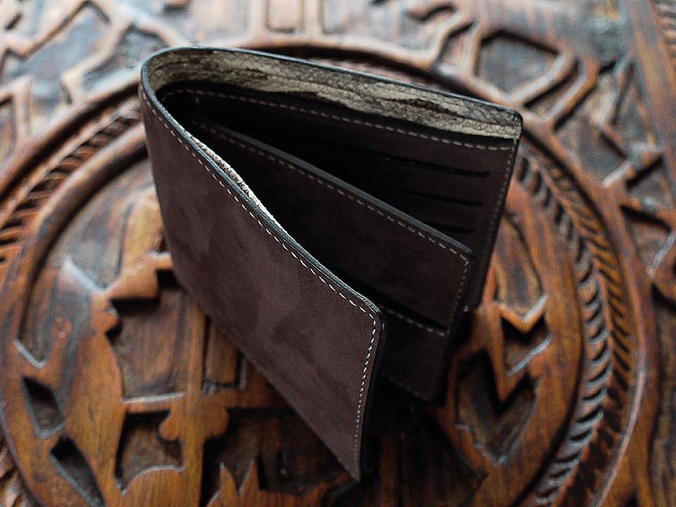 Porte carte de cr dit portefeuille artisanat cuir madagascar 6 l 39 atelier maroquinerie - Porte carte de credit homme ...