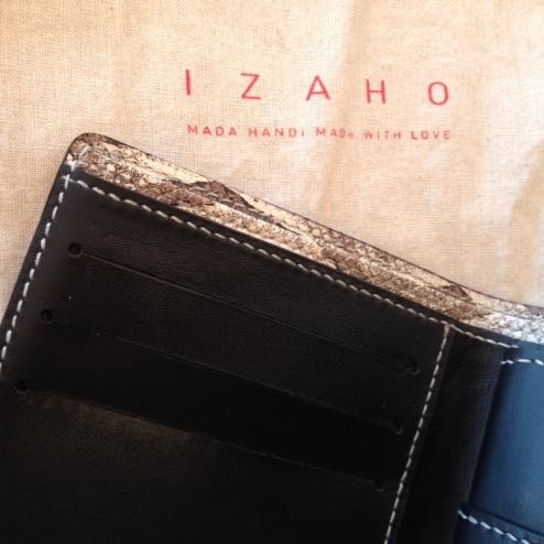 Porte carte de crédit en cuir de zébu, MadagascarJPG