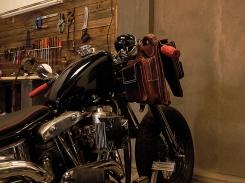 Sac à dos en cuir motard Madagascar IZAHO 7