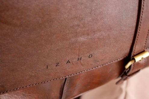 Cartable en cuir de zébu fait main - Atelier IZAHO 3