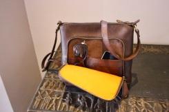 Sac en cuir de Youtta, cuir de zébu - maroquinerie Madagascar 3