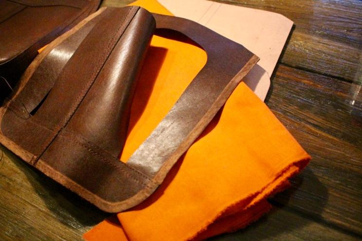 Sac en cuir de Youtta, cuir de zébu - maroquinerie Madagascar 8