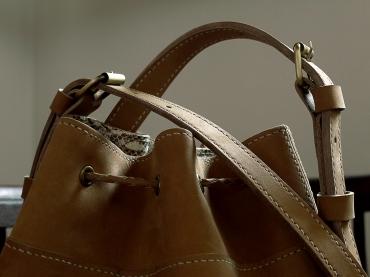 Le sac de Mlle Lili - nubuck de zébu de Madagascar 10