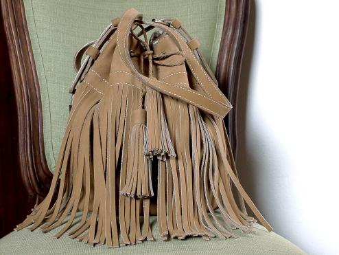 Le sac de Mlle Lili - nubuck de zébu de Madagascar 4