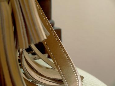 Le sac de Mlle Lili - nubuck de zébu de Madagascar 8