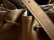 Le sac de Mlle Lili - nubuck de zébu de Madagascar 9