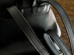 Le p'tit sac à dos en cuir de Vanessa - Izaho Madagasca 2