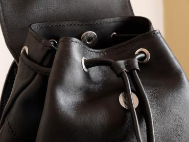 Le p'tit sac à dos en cuir de Vanessa - Izaho Madagasca 3