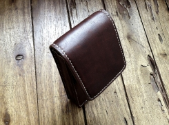 Petite sacoche de ceinture en cuir - Maroquinerie Izaho - Madagascar 5