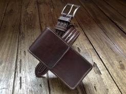 Petite sacoche de ceinture en cuir - Maroquinerie Izaho - Madagascar 9