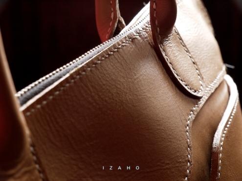 Sac de Mme Vounih, sac ou cabas en cuir, Maroquinerie Izaho Madagascar 15