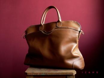 Sac de Mme Vounih, sac ou cabas en cuir, Maroquinerie Izaho Madagascar 17
