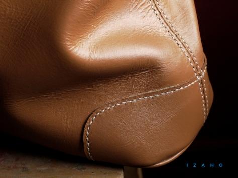 Sac de Mme Vounih, sac ou cabas en cuir, Maroquinerie Izaho Madagascar