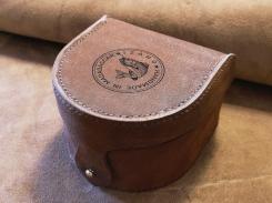 Etui pour moulinet pêche à la mouche en cuir - Izaho 4