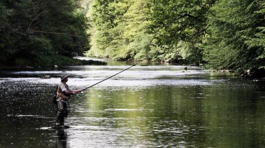 Etui pour moulinet pêche à la mouche en cuir - Izaho 9