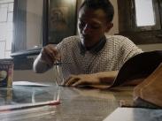 Atelier de maroquinerie Izaho à Antananarivo, madagascar 2