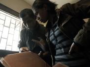 Atelier de maroquinerie Izaho à Antananarivo, madagascar 6