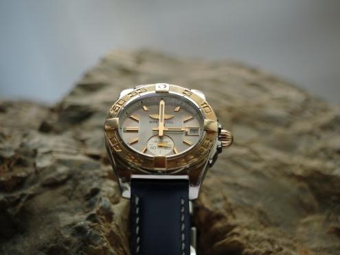 Bracelet en cuir de montre Breitling, Maroquinerie Madagascar