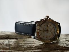 Bracelet en cuir de montre Breitling, Maroquinerie Madagascar 2