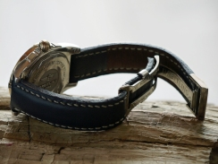 Bracelet en cuir de montre Breitling, Maroquinerie Madagascar 3