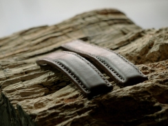 Bracelet en cuir de montre Breitling, Maroquinerie Madagascar 6